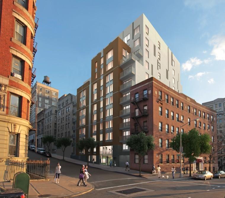 the alberta, a manhattan apartment building | jeffrey cole architects